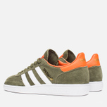 adidas Originals Spezial Sneakers Olive/White/Gold photo- 2