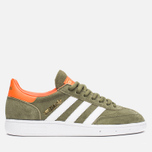 Кроссовки adidas Originals Spezial Olive/White/Gold фото- 0