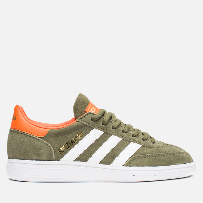 Кроссовки adidas Originals Spezial Olive/White/Gold