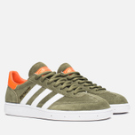 Кроссовки adidas Originals Spezial Olive/White/Gold фото- 1