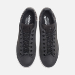 Мужские кроссовки adidas Originals Stan Smith Black/Neon White фото- 4