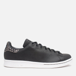 Мужские кроссовки adidas Originals Stan Smith Black/Neon White фото- 0