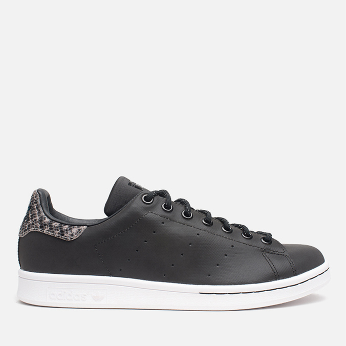 Мужские кроссовки adidas Originals Stan Smith Black/Neon White