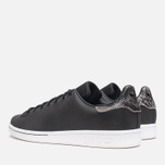 Мужские кроссовки adidas Originals Stan Smith Black/Neon White фото- 2