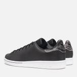 adidas Originals Stan Smith Sneakers Black/Neon White photo- 2