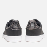 Мужские кроссовки adidas Originals Stan Smith Black/Neon White фото- 3