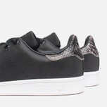 Мужские кроссовки adidas Originals Stan Smith Black/Neon White фото- 6