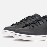 Мужские кроссовки adidas Originals Stan Smith Black/Neon White фото- 5