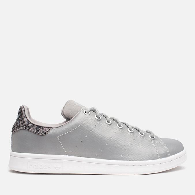 Мужские кроссовки adidas Originals Stan Smith Silver Metallic/White