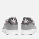 Мужские кроссовки adidas Originals Stan Smith Silver Metallic/White фото- 3