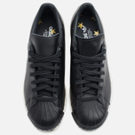 Мужские кроссовки adidas Originals Superstar 80s Clean Black фото- 4