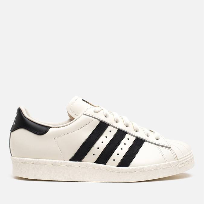 Мужские кроссовки adidas Originals Superstar 80s Deluxe Vintage White/Core Black