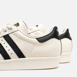 Мужские кроссовки adidas Originals Superstar 80s Deluxe Vintage White/Core Black фото- 6