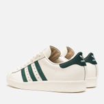 Мужские кроссовки adidas Originals Superstar 80s Deluxe Vintage White/Green фото- 2