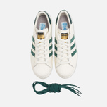 Мужские кроссовки adidas Originals Superstar 80s Deluxe Vintage White/Green фото- 4