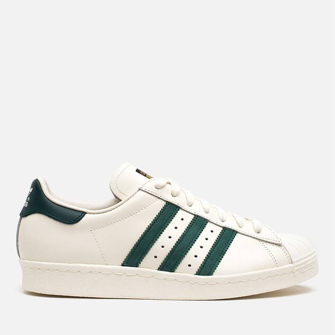Мужские кроссовки adidas Originals Superstar 80s Deluxe Vintage White/Green