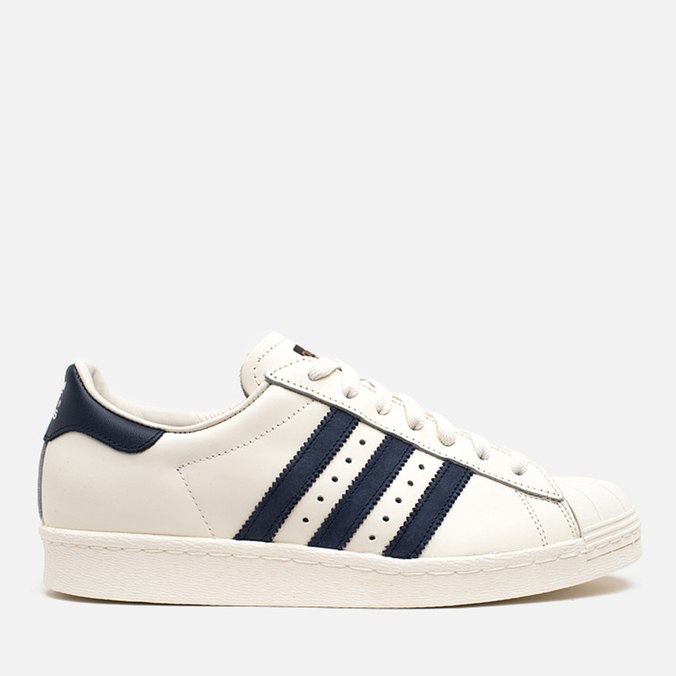Мужские кроссовки adidas Originals Superstar 80s Deluxe Vintage White/Navy