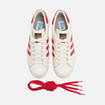 Мужские кроссовки adidas Originals Superstar 80s Deluxe Vintage White/Scarlet фото- 4