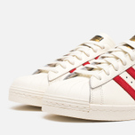 Мужские кроссовки adidas Originals Superstar 80s Deluxe Vintage White/Scarlet фото- 5
