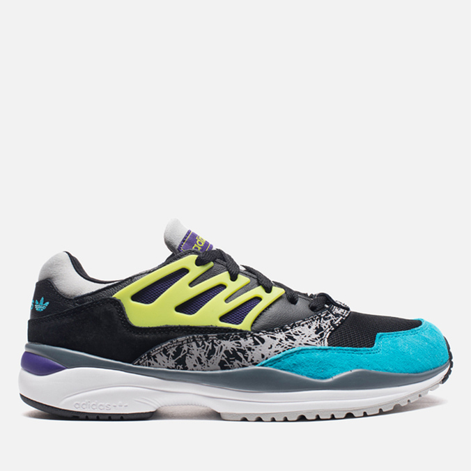 Мужские кроссовки adidas Originals Torsion Allegra Black/Lime/Ice