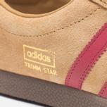 Мужские кроссовки adidas Originals Trimm Star Dark Sand/Bordeaux фото- 6