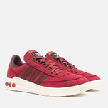 adidas Originals x Barbour Columbia Sneakers Collegiate Burgundy/Maroon photo- 1