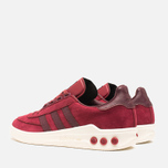 adidas Originals x Barbour Columbia Sneakers Collegiate Burgundy/Maroon photo- 2
