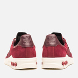 adidas Originals x Barbour Columbia Sneakers Collegiate Burgundy/Maroon photo- 3