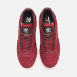 adidas Originals x Barbour Columbia Sneakers Collegiate Burgundy/Maroon photo- 4