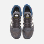Мужские кроссовки adidas Originals x Barbour ZX555 Night Grey/White Vapour фото- 4