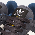 Мужские кроссовки adidas Originals x Barbour ZX555 Night Grey/White Vapour фото- 8