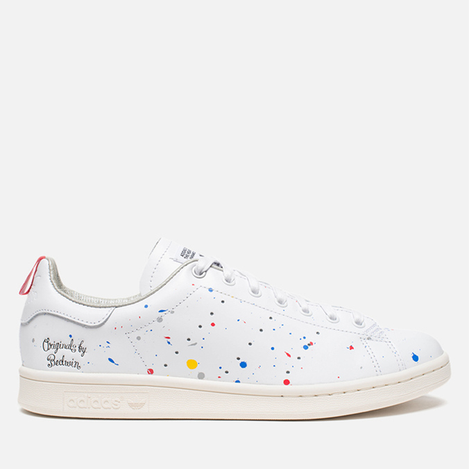 Мужские кроссовки adidas Originals & Heartbreakers Stan Smith Running White