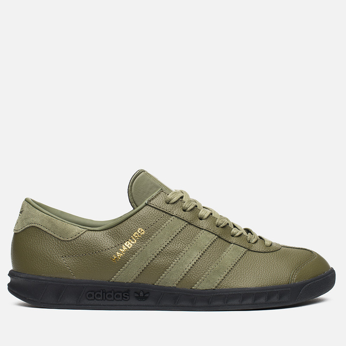 Кроссовки adidas Originals x size? Hamburg Olive/Black