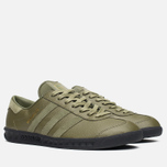 Кроссовки adidas Originals x size? Hamburg Olive/Black фото- 1