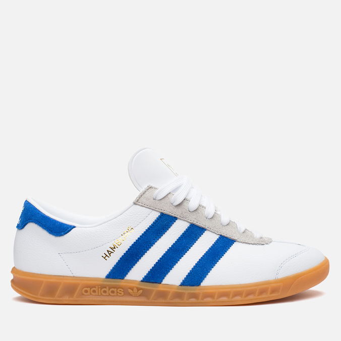 Кроссовки adidas Originals x size? Hamburg White/Blue/Gum