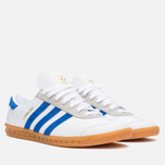 Кроссовки adidas Originals x size? Hamburg White/Blue/Gum фото- 1