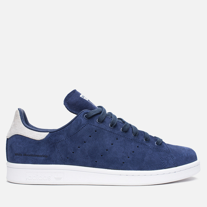 Мужские кроссовки adidas Originals x White Mountaineering Stan Smith Blue