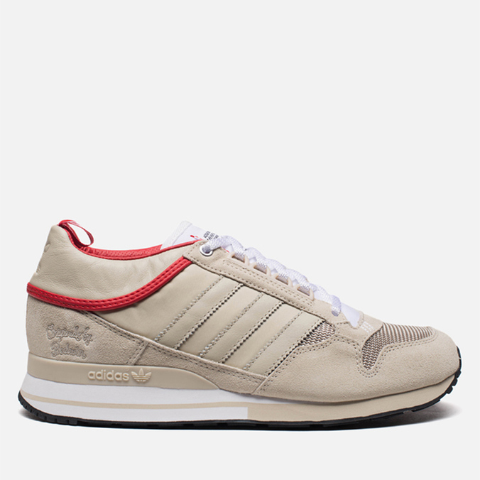 Мужские кроссовки adidas Originals & The Heartbreakers ZX 500 Mid Run White/Color Red