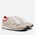 Мужские кроссовки adidas Originals & The Heartbreakers ZX 500 Mid Run White/Color Red фото- 1