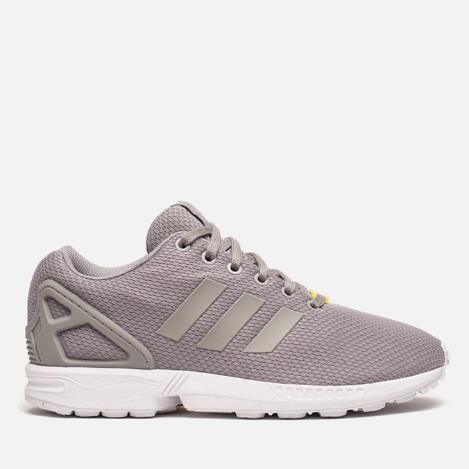 Мужские кроссовки adidas Originals ZX Flux Aluminium/White