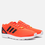Мужские кроссовки adidas Originals ZX Flux Infrared/White фото- 1