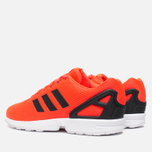 Мужские кроссовки adidas Originals ZX Flux Infrared/White фото- 2