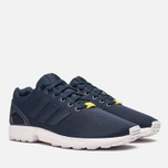 Мужские кроссовки adidas Originals ZX Flux Navy/White фото- 1