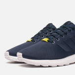 Мужские кроссовки adidas Originals ZX Flux Navy/White фото- 5