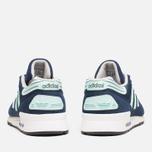Мужские кроссовки adidas Originals ZX710 Navy/Mint фото- 3