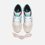Кроссовки adidas Originals ZX710 White/Brcyan/Brown фото- 4