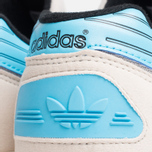 Кроссовки adidas Originals ZX710 White/Brcyan/Brown фото- 9