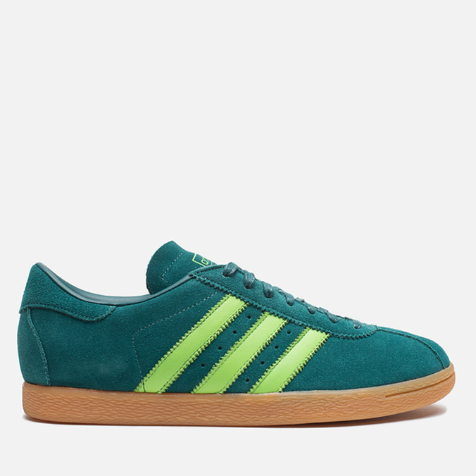 Мужские кроссовки adidas Originals Tobacco Rich Blue/Neon Green