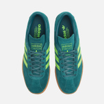 Мужские кроссовки adidas Originals Tobacco Rich Blue/Neon Green фото- 4