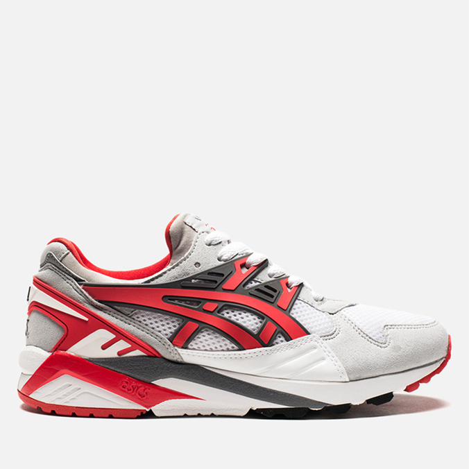 Asics Gel-Kayano Trainer White/Fairy Red